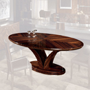 Oval dining table ジョルジオ・コレクション(giorgio cllection)