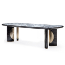 Rectangular table with marble top ジョルジオ・コレクション(giorgio cllection)