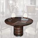 Round dining table ジョルジオ・コレクション(giorgio cllection)