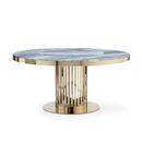 Round table with marble top ジョルジオ・コレクション(giorgio cllection)