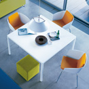 TREVI square table ポリフォーム(Poliform)